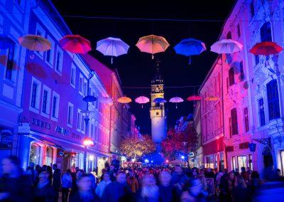 Straßenillumination – Einkaufsabend Romantica in Bautzen (Foto: Peter Stürzner)