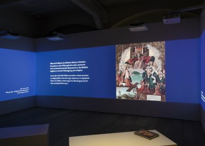 Medieninstallation – Luther Museum Wittenberg
