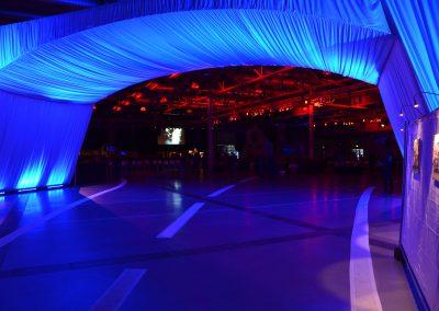 Technische Ausstattung – Firmenjubiläum in der Messehalle Dresden