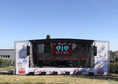 Tournee-Ausstattung – GIGfestival Tour Deutschland